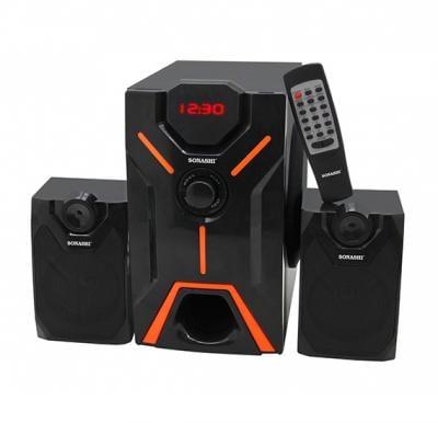 Sonashi 2.1 Ch Bluetooth Speaker With Usb/Sd Card Slot & Fm Radio Function, SHS-2101USRB