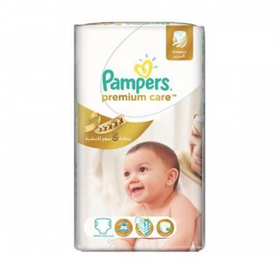 Pampers Premium Care  No.4 CP Maxi (7-14kg) 96pcs