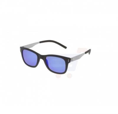 f61f06f5e08a7 Police Oval Black Frame   Blue Mirrored Sunglasses For Men - SPL170-U28B