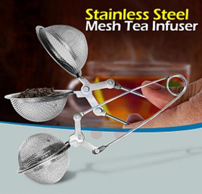 Stainless Steel Sphere Shape Mesh Tea Infuser, SKCT202
