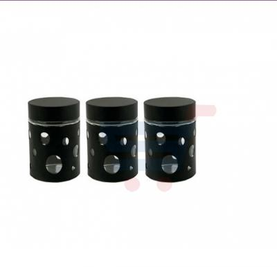 RoyalFord 3 Pieces Canister Set/Round Hole - RF7281