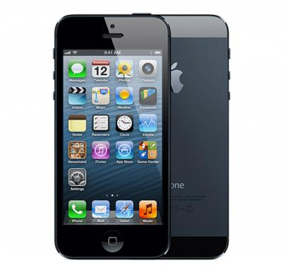 Apple iPhone 5, 4G LTE, iOS 7, 16GB, Dual Core 1.3Ghz, Dual Camera, Wifi - Black
