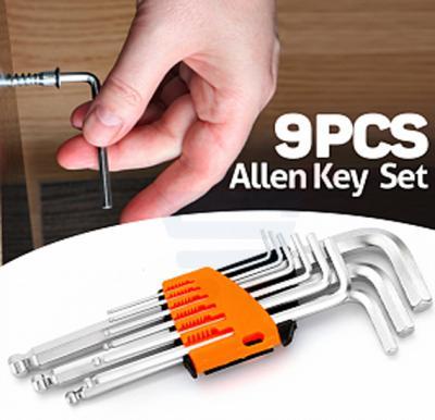 9Pcs Hex Allen Key Wrench Set