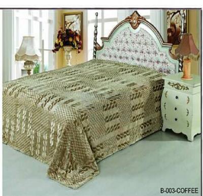 Senoures Classic Blanket Double 220X240CM - B-003 Coffee