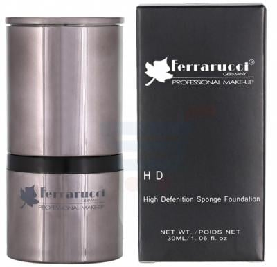 Ferrarucci High Definition Sponge Foundation 30ml, FSP03