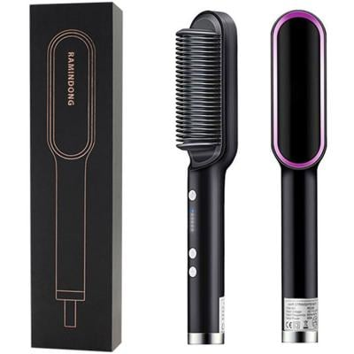 Hair Straightening Comb 180g, Black