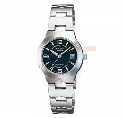 Casio LTP-1241D-1A Stainless Steel Band Watch For Women