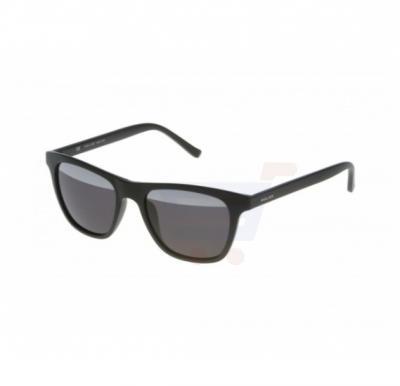 Police Round Black Frame & Black Mirrored Sunglasses For Men - S1936VU28H