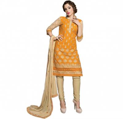 Glossy 1003 Cotton Embroidery Suit