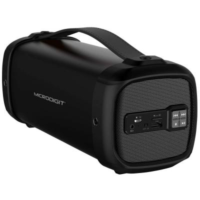 Microdigit Bluetooth Speaker for Multiple Devices, Black, M0060RT