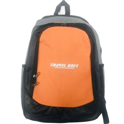 Travel One Eco-Friendly Back Pack Orange Color