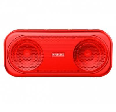 Promate True Wireless Speaker, Powerful 10W Wireless Bluetooth V5.0 Stereo Speaker with Built-In Mic, OTIC.RED