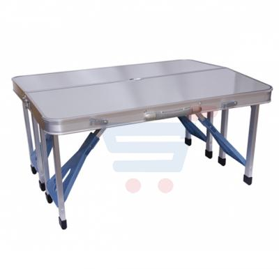 Camping Picnic Table Aluminum Foldable  With 4 Seats FS-3695