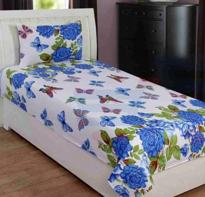 Single Bed Sheet with Pillow Cover, Different Kinds Of Shades