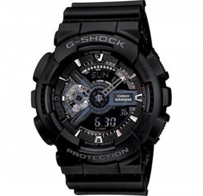Casio G-Shock GA-110-1BDR  Analog-Digital Black Dial Men Watch