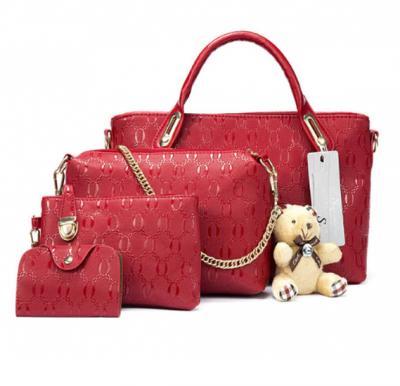4c3901a7587 Generic 4 pcs bags set with key chain