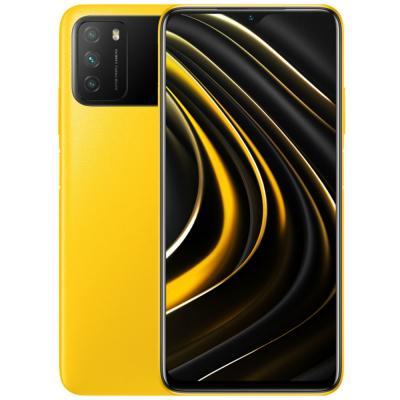 Xiaomi Poco M3 Dual SIM, 4GB RAM 64GB Storage, 4G LTE, Poco Yellow