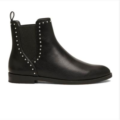 Springfield Fashion Womens Shoe, Black With Stones