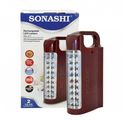 Sonashi Rechargeable Emergency Light Red, SEL 677