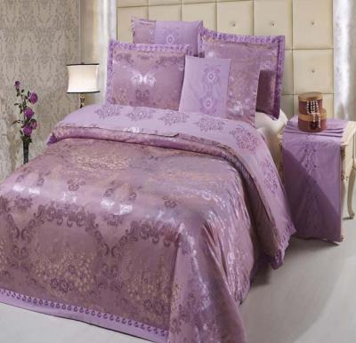 Senoures 100% Cotton Jacquard Quilt Cover 6Pcs Set King - SEJ-031