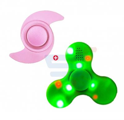 Bundle Offer LED Spinner With Bluetooth Speaker, CGT 9015, And Hand Spinner Fidget Toy, Anti- Stress
