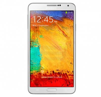 Samsung Galaxy Note 3 N9005 4G Smartphone, 5.7 Inch Display, Android OS, 3GB RAM, 32GB Storage, Single SIM, Dual Camera - White