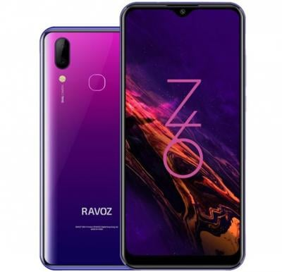 Ravoz Z6 64GB Purple Galaxy 4G Dual Sim Smartphone