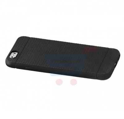 Promate Flexi i6 iPhone Case, Flexible Rubberized Anti Slip Case for iPhone 6/6s, Black
