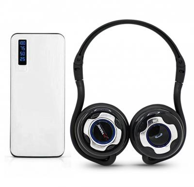 2 In 1 Bundle Xtreme Stereo Bluetooth Headset with Power Box 15000 mAh Power Bank
