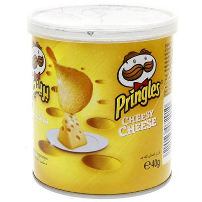 Pringles Cheesy Cheese flavoured Chips 40g