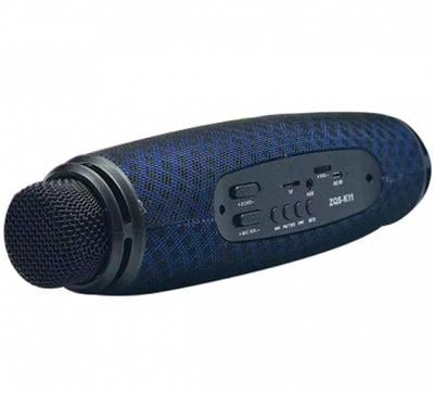 Outdoor Portable Karaoke Party DJ Bass Bluetooth Speaker with Microphone , ZQS-K11, Assorted