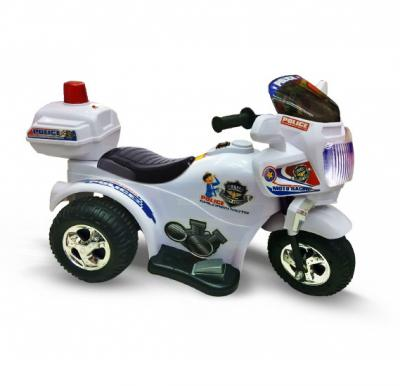 Battery Rechargeable Police Bike Toy For Children - QS 7398