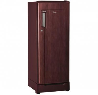 Whirlpool Mono Door Refrigerator 190Ltr - Red  - WMD205WN