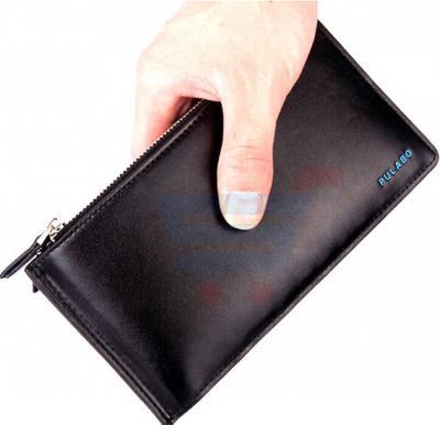 Mens Bi-Fold Business Wallet Black