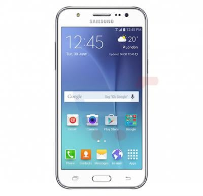 Samsung Galaxy J500F,4G,Android OS,5.0 inch HD Display,Dual SIM,Dual Camera,Quad Core 1.2GHz Processor-White