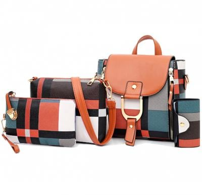 4 in 1 Tote Bag For Women WB-1122