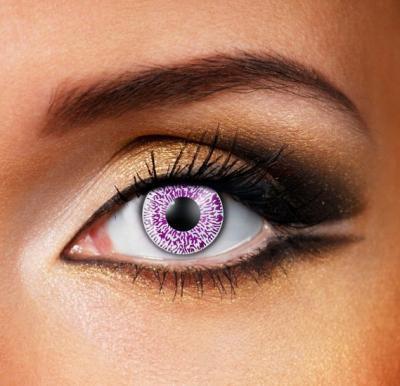 Violet 1 Tone Colour Eye Contact Lense