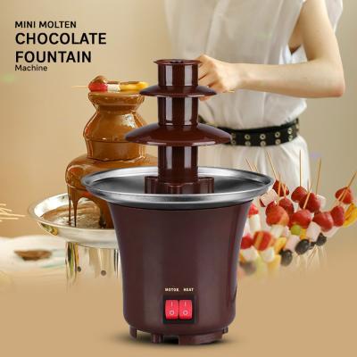 Mini Molten Chocolate Fountain BD-017 Brown