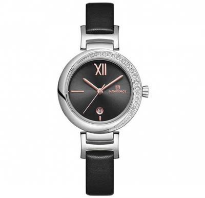 Naviforce NF5007 Women Fashion Sport Quartz Watch- Black