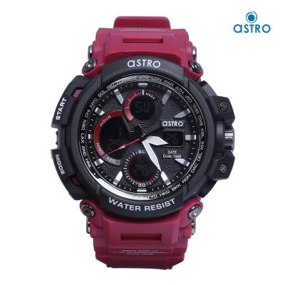 Astro Kids Analog-Digital Black Dial Watch A20807-RED, Size 53