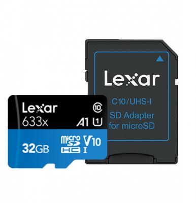 Lexar Micro Sd Cards 633x Micro SDHC/SDXC UHS-I Card 95MBPS-32Gb