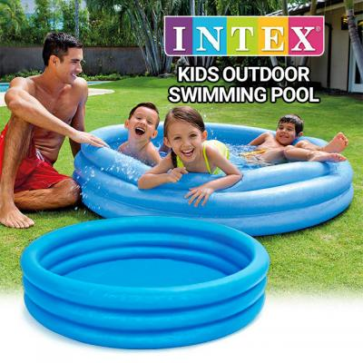 Intex Crystal Blue Kids Outdoor Swimming Pool, 66 x 15 Inches, 58446NP