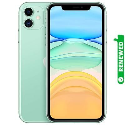 Apple iPhone 11 With FaceTime Green 64GB 4G LTE Renewed- S