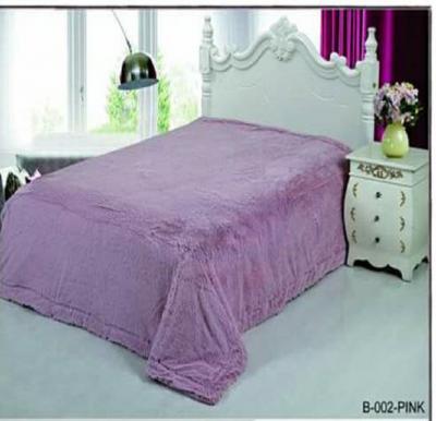 Senoures Classic Blanket Single 160X220CM - B-002 Pink