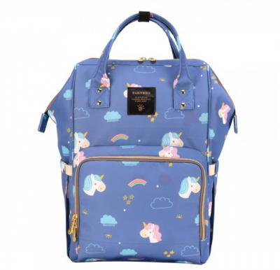 Sunveno Diaper Bag Unicorn Blue