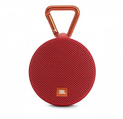 JBL Full Featured Waterproof Ultra Portable Speaker, Clip 3 Red