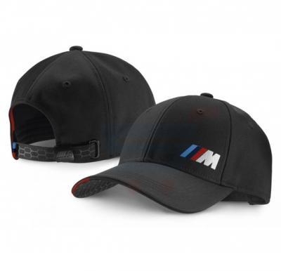 BMW M Logo Sports Cap Black, Free Size