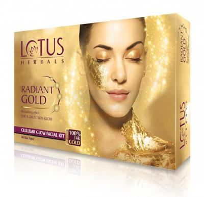 Lotus Radiant Gold Cellular Glow 1 Facial Kit