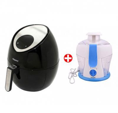 Bundle Offer! Sonashi Digital Air Fryer SAF-001 & Get Sonashi 550W Juice Extractor SJE-414 FREE
