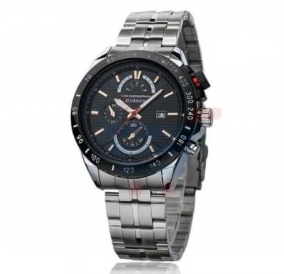 Curren Date Display Stainless Steel Mens Watch, -M 8148